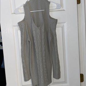 Venus cold shoulder sweater.
